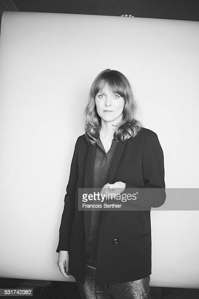 Director Maren Ade is photographed for Self Assignment on May 15 2016 in Cannes France