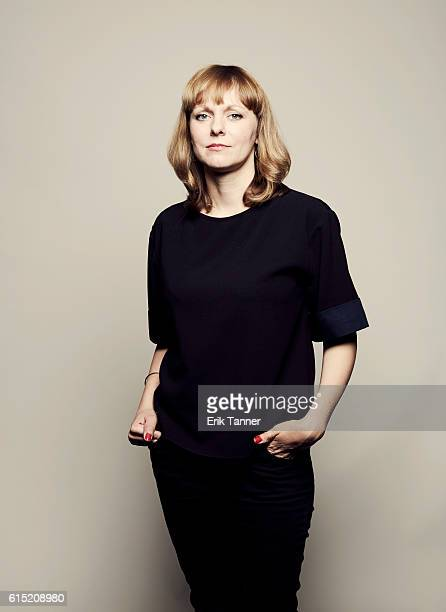 Director Maren Ade poses for a portrait during the 54th New York Film Festival at Lincoln Center on October 2 2016 in New York City