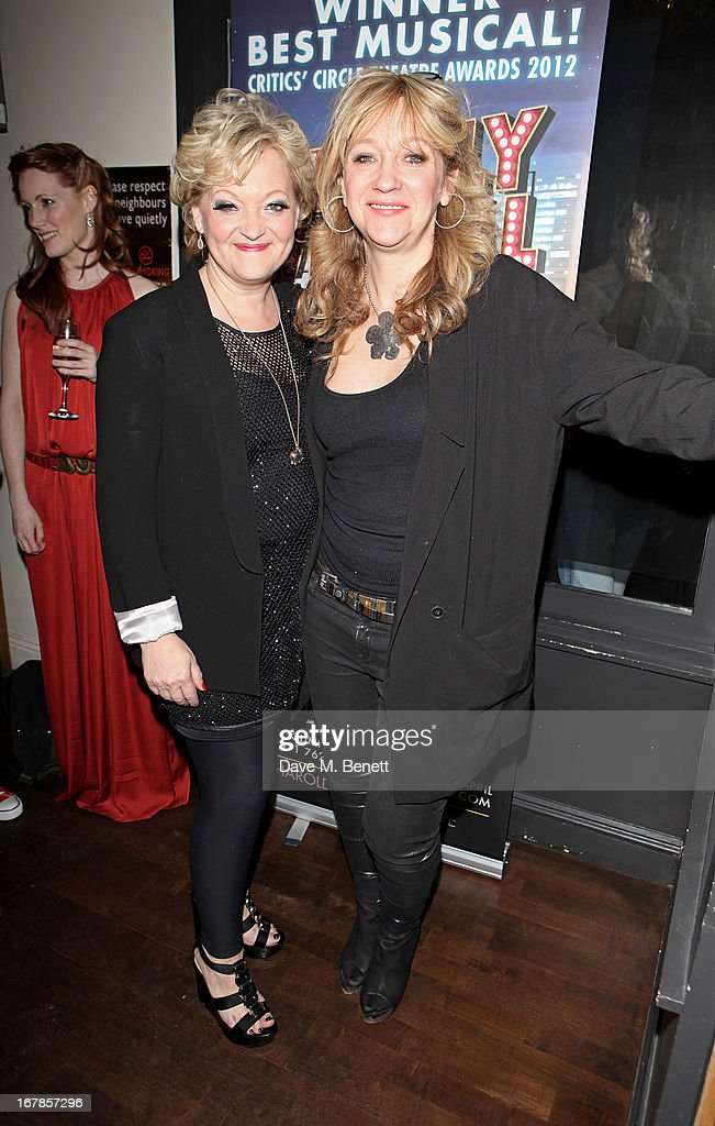 Director Maria Friedman (L) and producer Sonia Friedman attend an after party celebrating the press night performance of the Menier Chocolate Factory's 'Merrily We Roll Along', following its transfer to the Harold Pinter Theatre, at Grace Restaurant on May 1, 2013 in London, England.