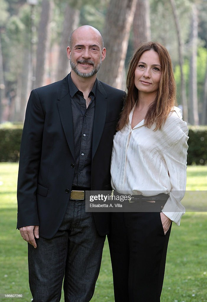 Director <a gi-track='captionPersonalityLinkClicked' href=/galleries/search?phrase=Maria+Sole+Tognazzi&family=editorial&specificpeople=830504 ng-click='$event.stopPropagation()'>Maria Sole Tognazzi</a> (R) and actor Gian Marco Tognazzi attend 'Viaggio Sola' photocall at Villa Borghese on April 17, 2013 in Rome, Italy.