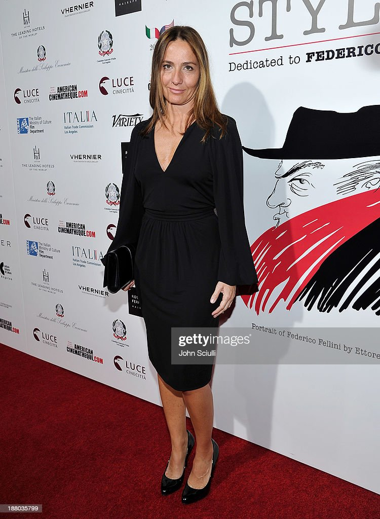 Director Maria Sole Tognazzi attends Cinema Italian Style 2013 'The Great Beauty' opening night premiere at the Egyptian Theatre on November 14, 2013 in Hollywood, California.