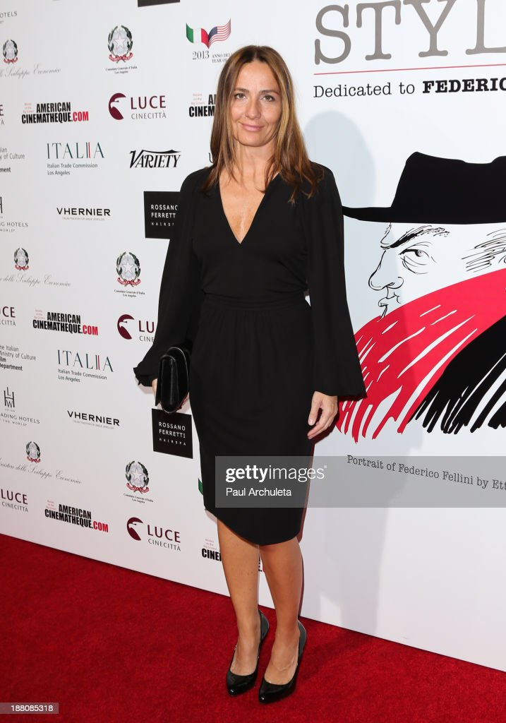 Director Maria Sole Tognazzi attends the premiere of 'The Great Beauty' at the Cinema Italian Style 2013 Opening Night at the Egyptian Theatre on November 14, 2013 in Hollywood, California.