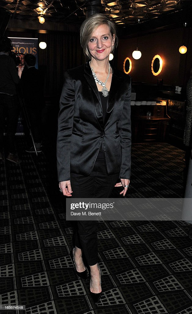 Director Marianne Elliott attends an after party celebrating the press night performance of 'The Curious Incident of the Dog in the Night-Time' at Century on March 12, 2013 in London, England.