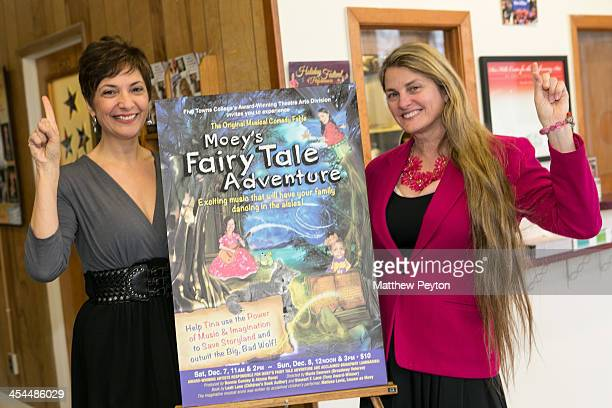 Director Marie Danvers and producer Bonnie Comley pose together at Moey's Fairytale Adventure World Premiere at Dix Hills Performing Arts Center Five...