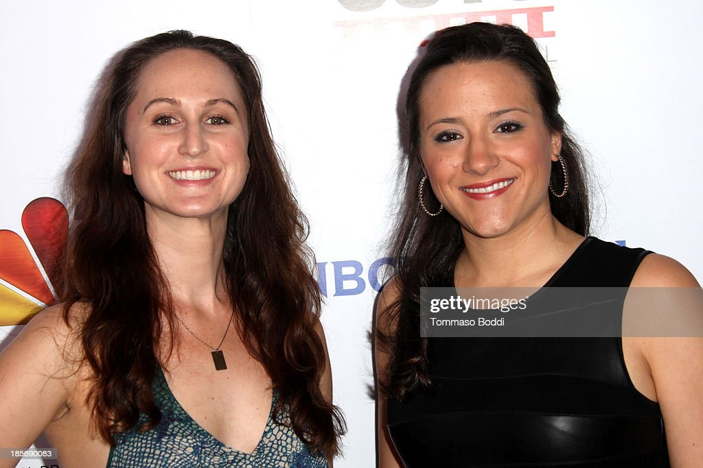 Director Marielle Woods (R) and producer Erin Krozek attend the NBCUniversal's 8th annual 'Short Cuts Festival' grand finale held at DGA Theater on October 23, 2013 in Los Angeles, California.