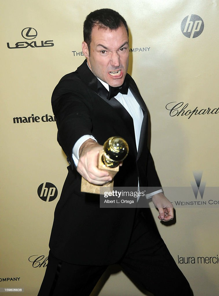 Director Mark Andrews arrives for the Weinstein Company's 2013 Golden Globe Awards After Party - Arrivals on January 13, 2013 in Beverly Hills, California.