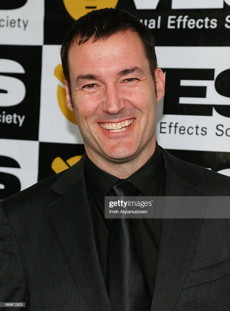Director Mark Andrews poses backstage at the 11th Annual Visual Effects Society Awards at The Beverly Hilton Hotel on February 5, 2013 in Beverly Hills, California.