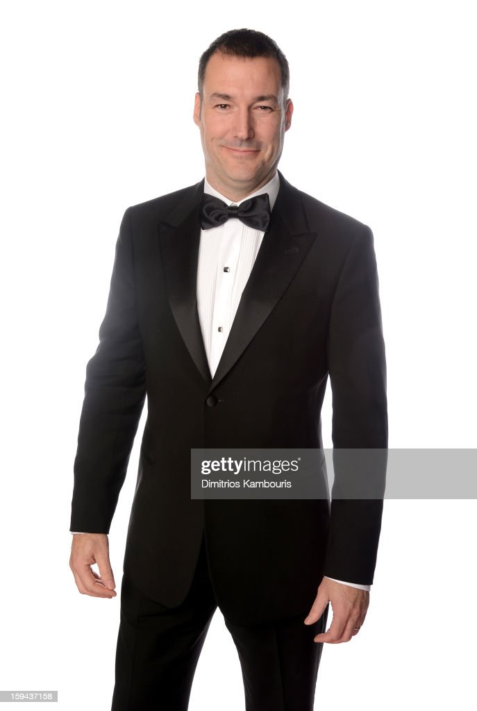 Director Mark Andrews, winner of Best Animated Film for 'Brave', poses for a portrait at the 70th Annual Golden Globe Awards held at The Beverly Hilton Hotel on January 13, 2013 in Beverly Hills, California.