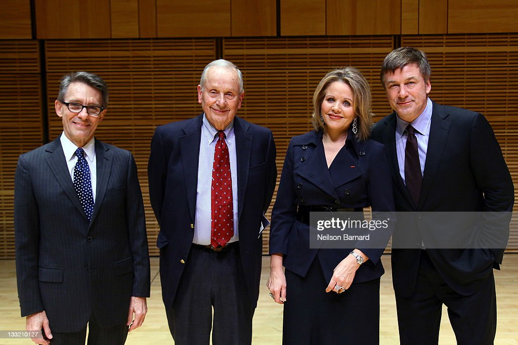 director mark lamos playwright ar gurney opera soprano renee fleming and actor alec baldwin