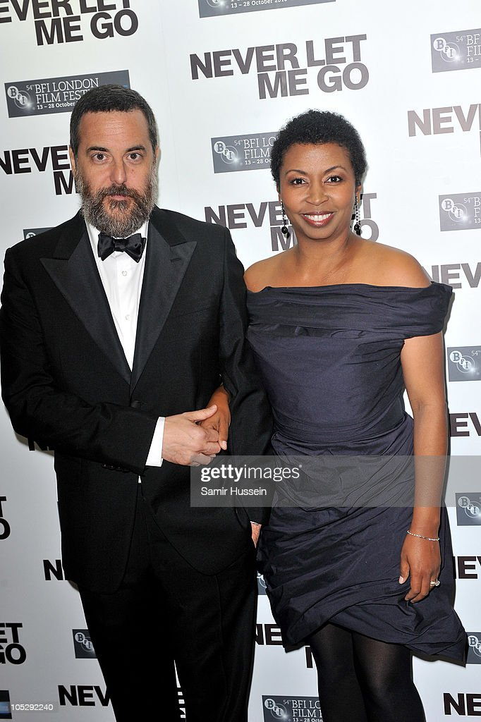 Director Mark Romanek (L) and Brigette Romanek attend the 'Never Let Me Go' afterparty during the 54th BFI London Film Festival at Saatchi Gallery on October 13, 2010 in London, England.