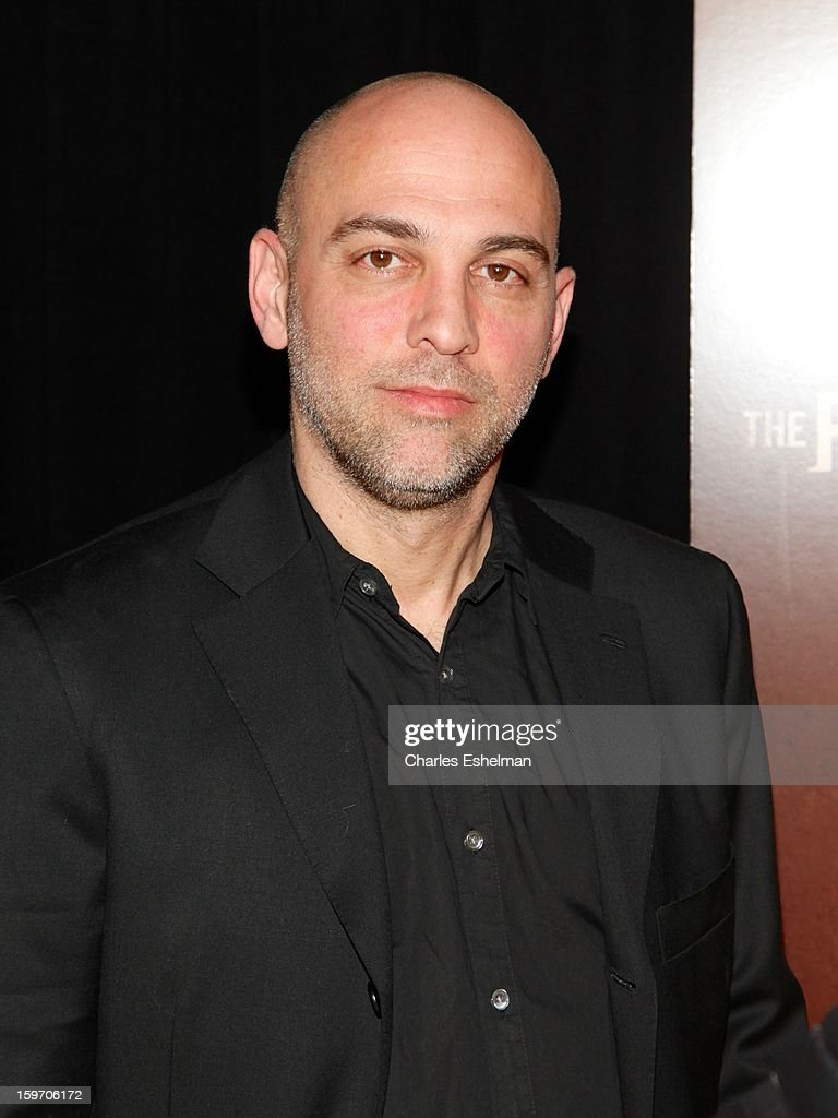 Director Marocs Siega attends 'The Following' premiere at The New York Public Library on January 18, 2013 in New York City.