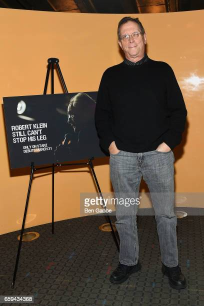 Director Marshall Fine attends the 'Robert Klein Still Can't Stop His Leg' Special Screening at SVA Theater on March 28 2017 in New York City