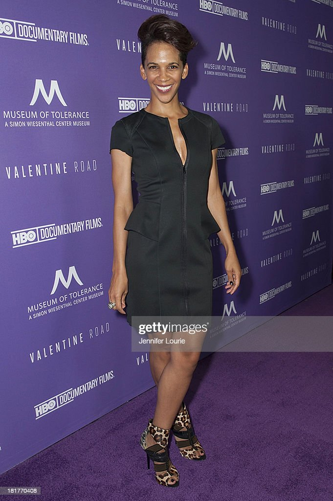 Director <a gi-track='captionPersonalityLinkClicked' href=/galleries/search?phrase=Marta+Cunningham&family=editorial&specificpeople=5013925 ng-click='$event.stopPropagation()'>Marta Cunningham</a> attends the Los Angeles premiere screening of 'Valentine Road' at The Museum of Tolerance on September 24, 2013 in Los Angeles, California.