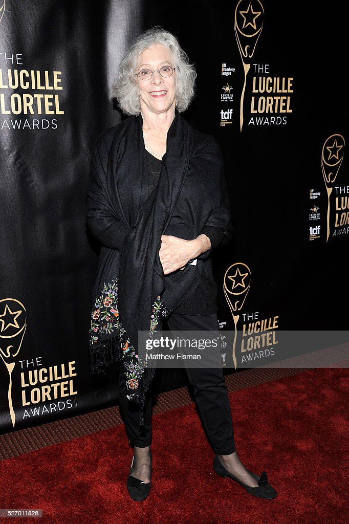 Director Martha Clarke arrives at the 31st Annual Lucille Lortel Awards at NYU Skirball Center on May 1, 2016 in New York City.