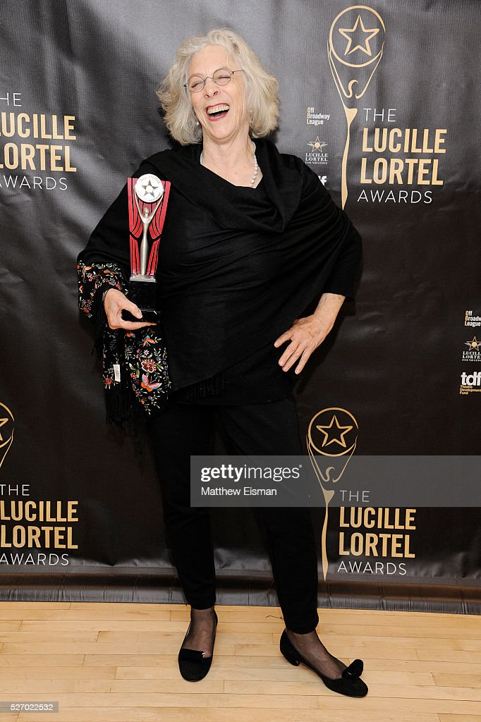 Director Martha Clarke attends the press room for the 31st Annual Lucille Lortel Awards at NYU Skirball Center on May 1, 2016 in New York City.
