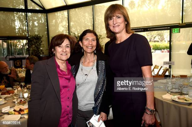 Director Martha Coolidge DGA National Boardmember Liz Ryan and 2017 Frank Capra Achievement award winner Marie Cantin attend the 69th Annual...