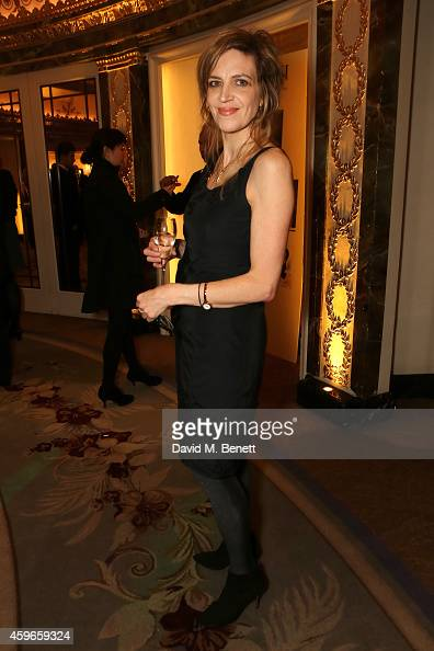 Director Martha Fiennes attends Dancing Away photographic exhibition by Mikhail Baryshnikov at ContiniArtUK co hosted by Damiani on November 27 2014...