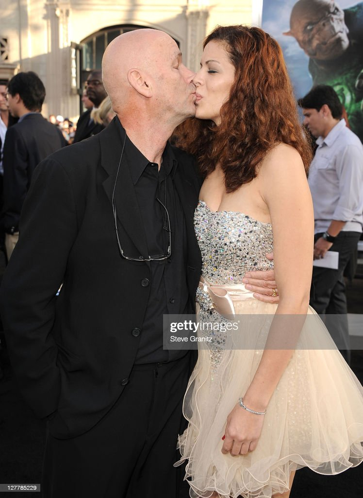 Director Martin Campbell (L) and actress Sol E. Romero attends the 'Green Lantern' Los Angeles Premiere at Grauman's Chinese Theatre on June 15, 2011 in Hollywood, California.