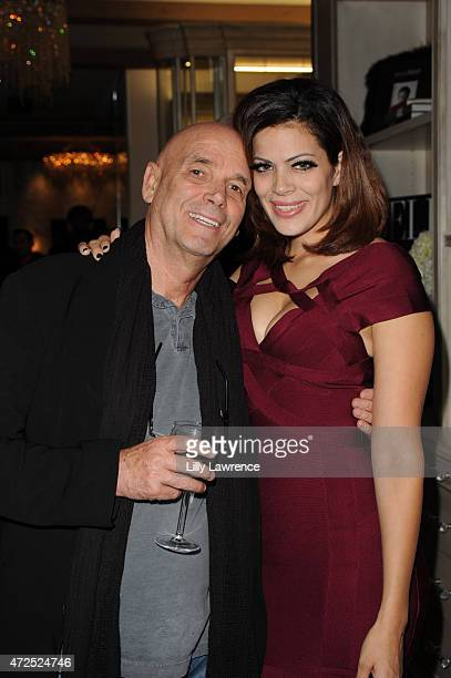 Director Martin Campbell and wife singer Sol Romero attends BELLA Beauty Issue Party Hosted By Jordana Woodland at Naked Princess on May 7 2015 in...