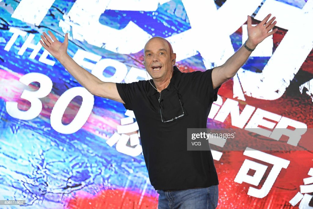 Director Martin Campbell attends 'The Foreigner' press conference on August 21, 2017 in Beijing, China.