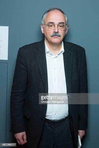 Director Martin Gropius Bau Gereon Sievernich poses after a 'David Bowie' press conference at Martin Gropius Bau on May 19 2014 in Berlin Germany The...