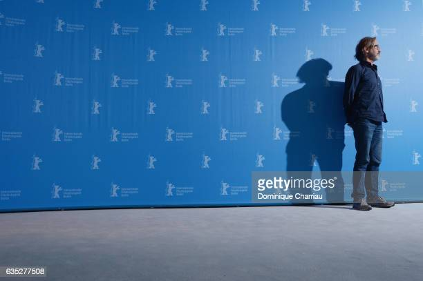 Director Martin Provost attends the 'The Midwife' photo call during the 67th Berlinale International Film Festival Berlin at Grand Hyatt Hotel on...