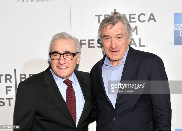 Director Martin Scorsese and actor Robert De Niro attend 'The King of Comedy' Closing Night Screening Gala during the 2013 Tribeca Film Festival on...