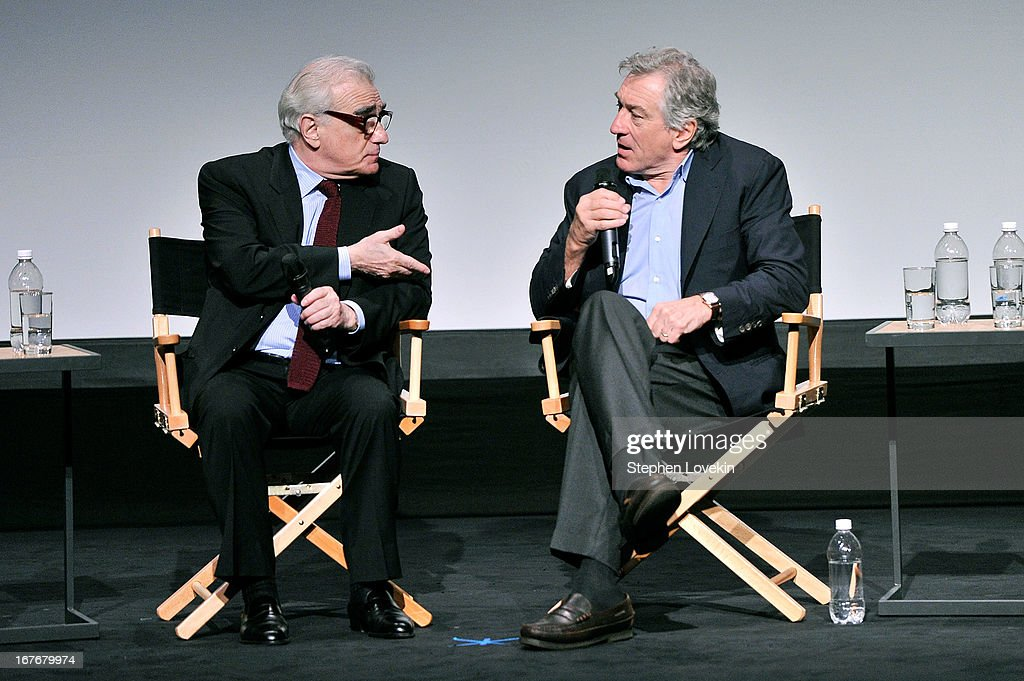 Director <a gi-track='captionPersonalityLinkClicked' href=/galleries/search?phrase=Martin+Scorsese&family=editorial&specificpeople=201976 ng-click='$event.stopPropagation()'>Martin Scorsese</a> and actor <a gi-track='captionPersonalityLinkClicked' href=/galleries/search?phrase=Robert+De+Niro&family=editorial&specificpeople=201673 ng-click='$event.stopPropagation()'>Robert De Niro</a> attend 'The King of Comedy' Closing Night Screening Gala during the 2013 Tribeca Film Festival on April 27, 2013 in New York City.