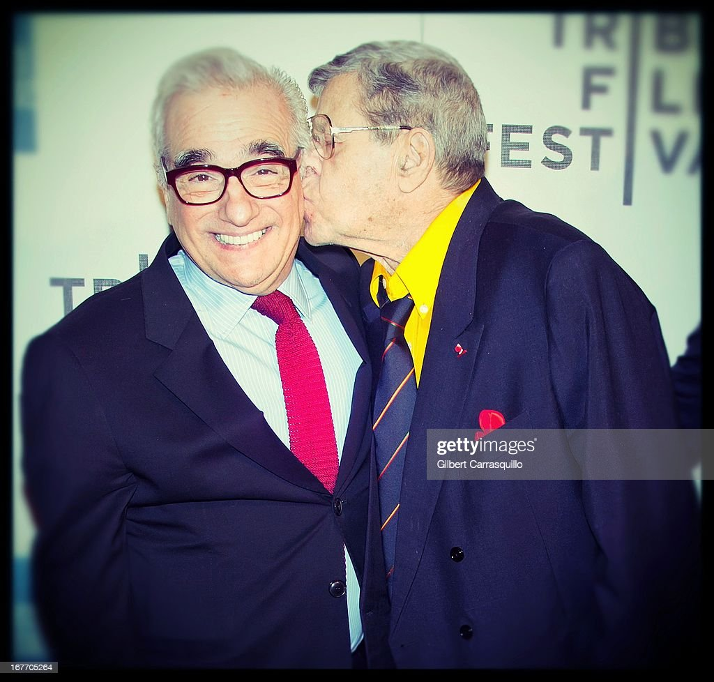 Director <a gi-track='captionPersonalityLinkClicked' href=/galleries/search?phrase=Martin+Scorsese&family=editorial&specificpeople=201976 ng-click='$event.stopPropagation()'>Martin Scorsese</a> and comedian <a gi-track='captionPersonalityLinkClicked' href=/galleries/search?phrase=Jerry+Lewis+-+Comedian&family=editorial&specificpeople=202947 ng-click='$event.stopPropagation()'>Jerry Lewis</a> attend the closing night screening of 'The King of Comedy' during the 2013 Tribeca Film Festival at BMCC Tribeca PAC on April 27, 2013 in New York City.