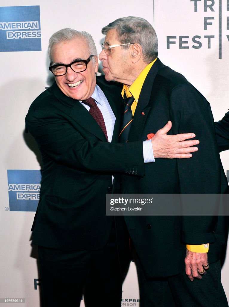 Director <a gi-track='captionPersonalityLinkClicked' href=/galleries/search?phrase=Martin+Scorsese&family=editorial&specificpeople=201976 ng-click='$event.stopPropagation()'>Martin Scorsese</a> and comedian <a gi-track='captionPersonalityLinkClicked' href=/galleries/search?phrase=Jerry+Lewis+-+Comedian&family=editorial&specificpeople=202947 ng-click='$event.stopPropagation()'>Jerry Lewis</a> attend 'The King of Comedy' Closing Night Screening Gala during the 2013 Tribeca Film Festival on April 27, 2013 in New York City.