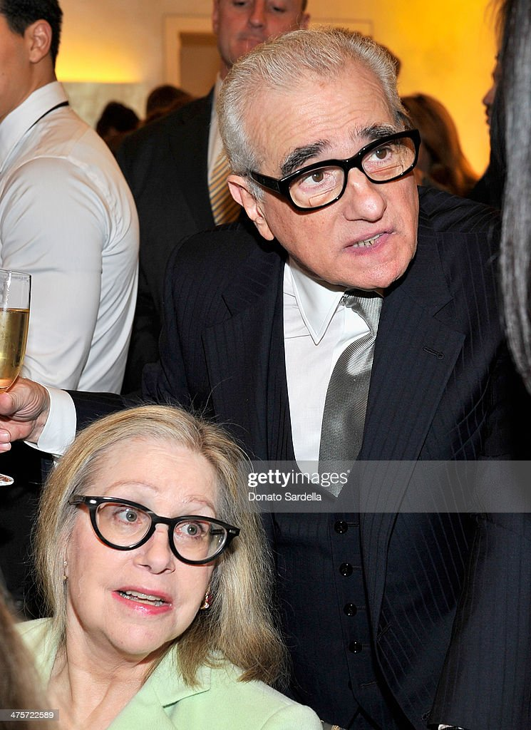 Director <a gi-track='captionPersonalityLinkClicked' href=/galleries/search?phrase=Martin+Scorsese&family=editorial&specificpeople=201976 ng-click='$event.stopPropagation()'>Martin Scorsese</a> and Helen Scorsese attend the Giorgio Armani special celebration honoring <a gi-track='captionPersonalityLinkClicked' href=/galleries/search?phrase=Martin+Scorsese&family=editorial&specificpeople=201976 ng-click='$event.stopPropagation()'>Martin Scorsese</a> and Paolo Sorrentino hosted by Roberta Armani at the Giorgio Armani Flagship Boutique on February 28, 2014 in Beverly Hills, California.