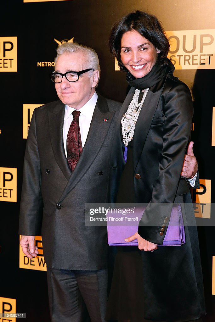 Director <a gi-track='captionPersonalityLinkClicked' href=/galleries/search?phrase=Martin+Scorsese&family=editorial&specificpeople=201976 ng-click='$event.stopPropagation()'>Martin Scorsese</a> and model <a gi-track='captionPersonalityLinkClicked' href=/galleries/search?phrase=Ines+Sastre&family=editorial&specificpeople=206220 ng-click='$event.stopPropagation()'>Ines Sastre</a> attend the photocall before the party for 'The Wolf of Wall Street' World Premiere. Held at Palais Brogniart on December 9, 2013 in Paris, France.