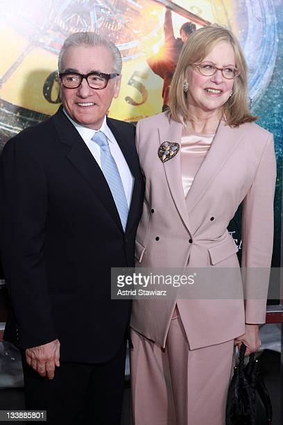 Director Martin Scorsese and wife Helen Scorsese attends the 'Hugo' premiere at the Ziegfeld Theatre on November 21 2011 in New York City