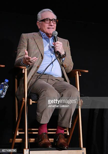 Director Martin Scorsese at the American Cinematheque conversation with Director Martin Scorsese and Producer Irwin Winkler at the Egyptian Theatre...