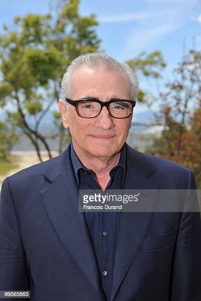 Director Martin Scorsese attends a photocall at the Antibes during the 63rd Annual Cannes Film Festival on May 15 2010 in Cannes France