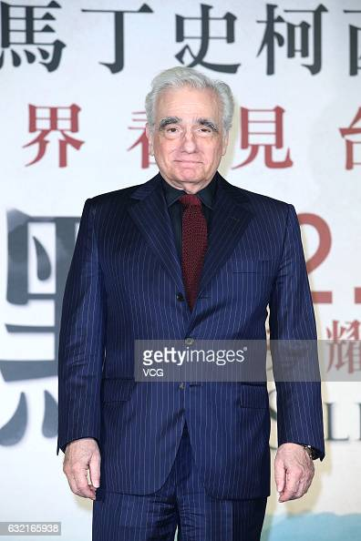 Director Martin Scorsese attends 'Silence' press conference on January 19 2017 in Taipei Taiwan