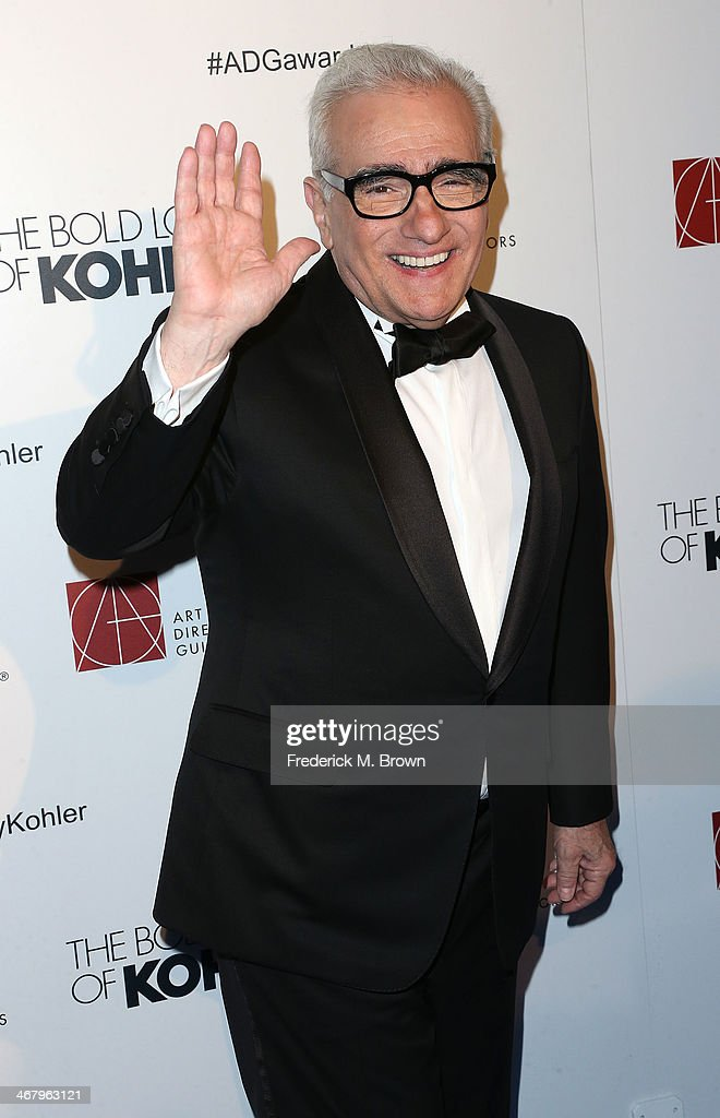 Director <a gi-track='captionPersonalityLinkClicked' href=/galleries/search?phrase=Martin+Scorsese&family=editorial&specificpeople=201976 ng-click='$event.stopPropagation()'>Martin Scorsese</a> attends the 18th Annual Art Directors Guild Excellence in Production Design Awards at The Beverly Hilton Hotel on February 8, 2014 in Beverly Hills, California.