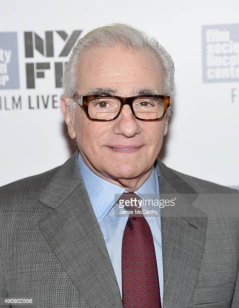 Director Martin Scorsese attends the 53rd New York Film Festival screening of 'Heaven Can Wait' at Alice Tully Hall Lincoln Center on October 1 2015...