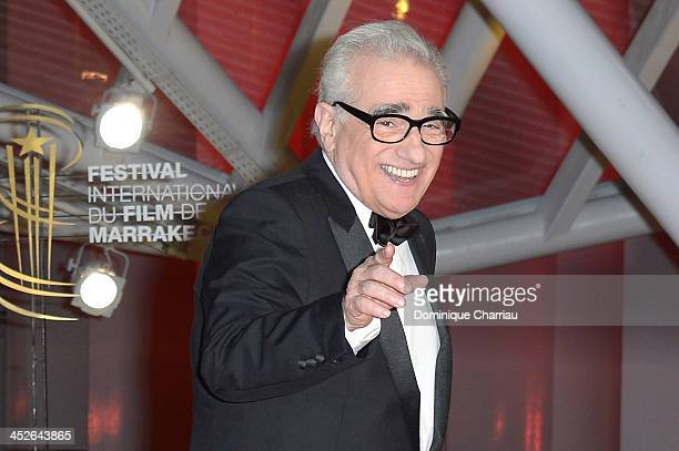 Director Martin Scorsese attends the 'A Thousand Times Good Night' premiere during the 13th Marrakech International Film Festival on November 30 2013...