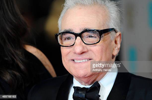 Director Martin Scorsese attends the EE British Academy Film Awards 2014 at The Royal Opera House on February 16 2014 in London England