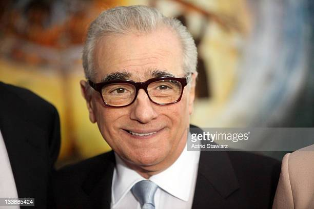 Director Martin Scorsese attends the 'Hugo' premiere at the Ziegfeld Theatre on November 21 2011 in New York City