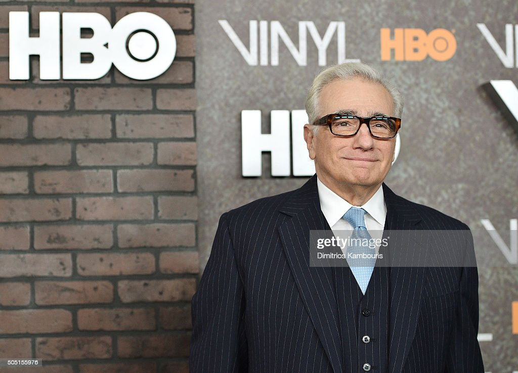 Director Martin Scorsese attends the New York premiere of 'Vinyl' at Ziegfeld Theatre on January 15 2016 in New York City
