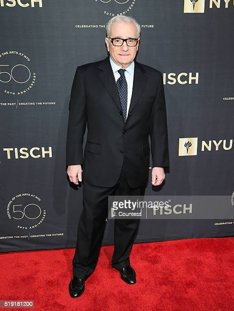Director Martin Scorsese attends the NYU Tisch School of the Arts 50th Anniversary Gala at Frederick P Rose Hall Jazz at Lincoln Center on April 4...