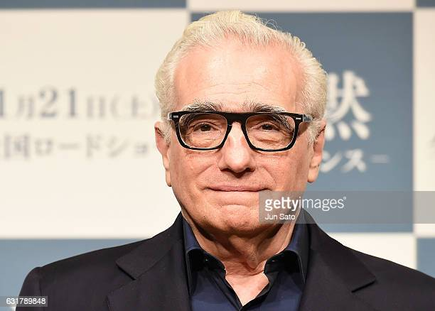 Director Martin Scorsese attends the press conference for 'Silence' at the RitzCarlton on January 16 2017 in Tokyo Japan