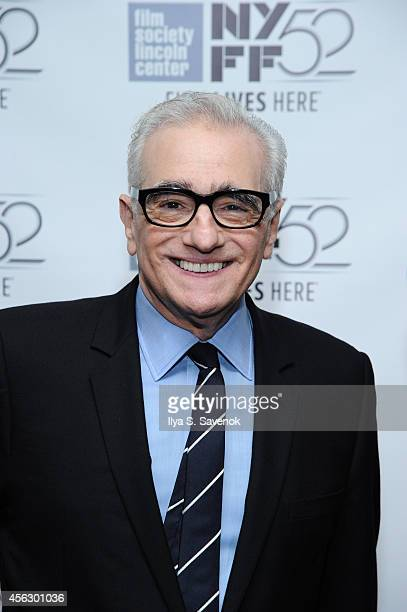 Director Martin Scorsese attends the 'The 50 Year Argument' premiere during the 52nd New York Film Festival at Walter Reade Theater on September 28...
