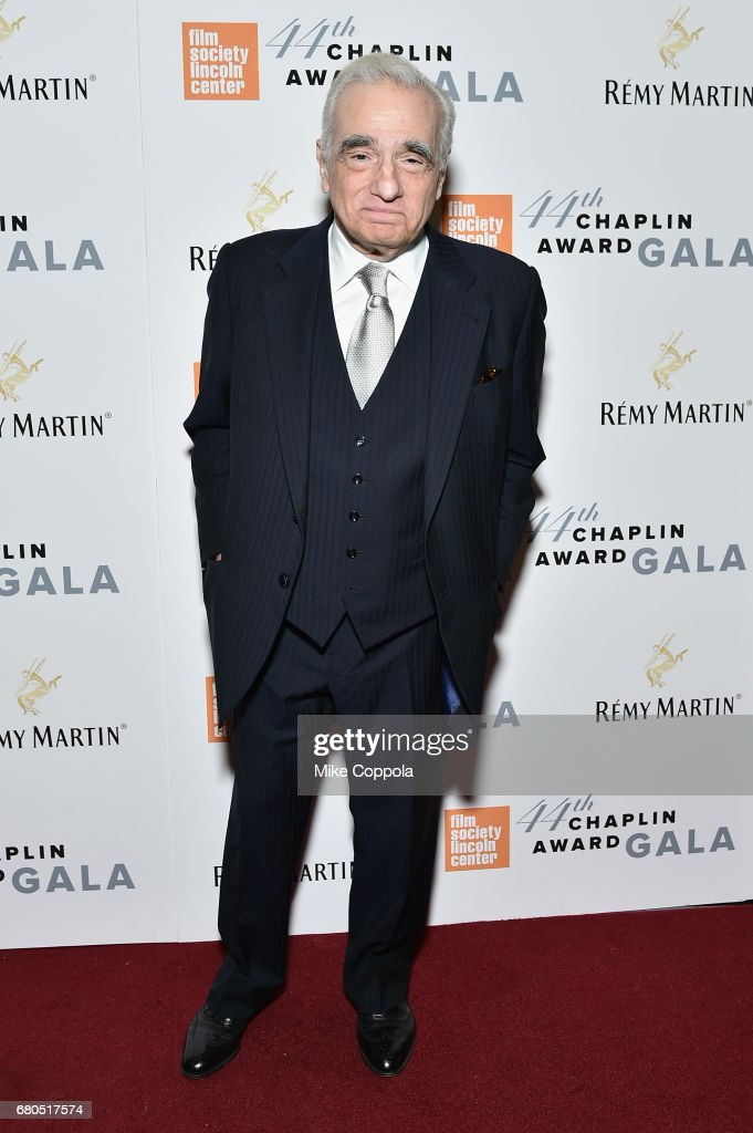 Director Martin Scorsese backstage during the 44th Chaplin Award Gala at David H. Koch Theater at Lincoln Center on May 8, 2017 in New York City.