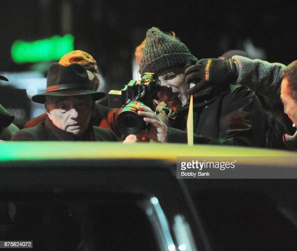 Director Martin Scorsese on the set of 'The Irishman' on November 17 2017 in New York City