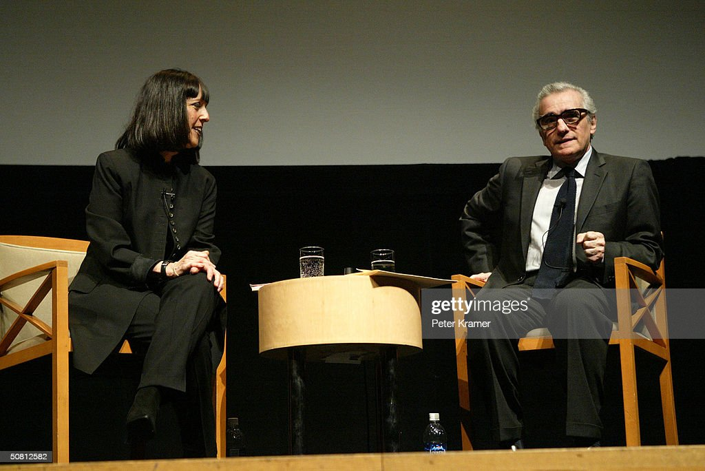 Director Martin Scorsese speaks with Vanity Fair Contributing Editor Lisa Robinson at the Scorsese And Music Panel during the 2004 Tribeca Film Festival May 7, 2004 in New York City.