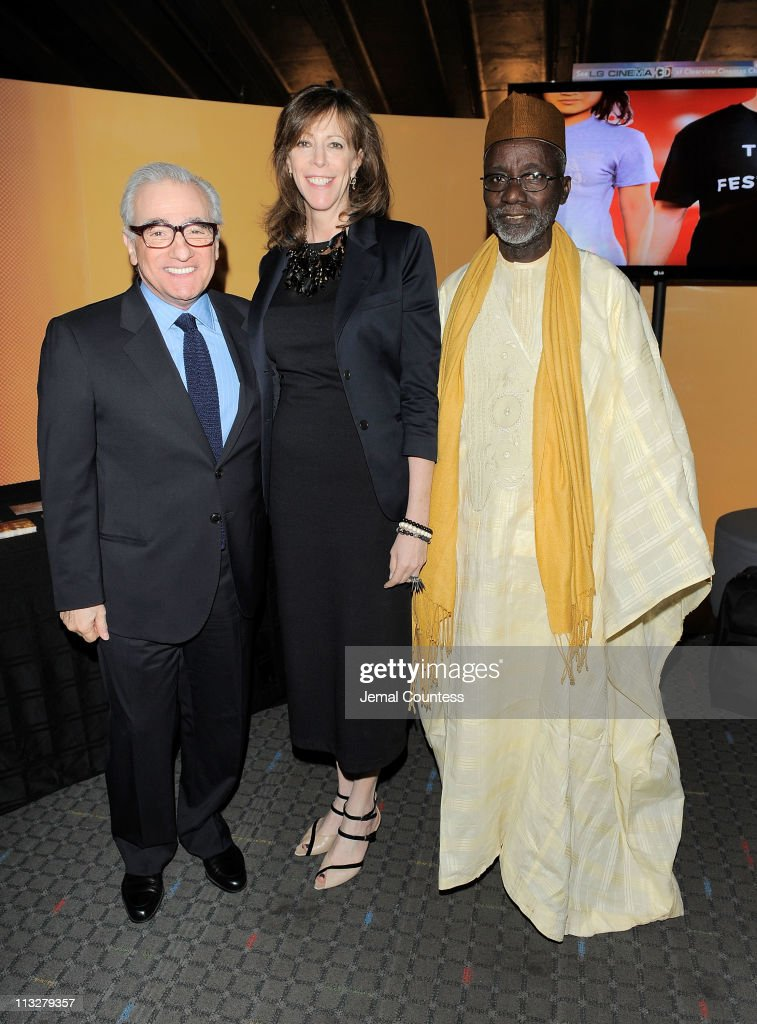 Director <a gi-track='captionPersonalityLinkClicked' href=/galleries/search?phrase=Martin+Scorsese&family=editorial&specificpeople=201976 ng-click='$event.stopPropagation()'>Martin Scorsese</a>, Tribeca Film Festival co-founder <a gi-track='captionPersonalityLinkClicked' href=/galleries/search?phrase=Jane+Rosenthal&family=editorial&specificpeople=202835 ng-click='$event.stopPropagation()'>Jane Rosenthal</a> and director/writer <a gi-track='captionPersonalityLinkClicked' href=/galleries/search?phrase=Souleymane+Cisse&family=editorial&specificpeople=606860 ng-click='$event.stopPropagation()'>Souleymane Cisse</a> pose at the Tribeca Talks Directors Series: <a gi-track='captionPersonalityLinkClicked' href=/galleries/search?phrase=Souleymane+Cisse&family=editorial&specificpeople=606860 ng-click='$event.stopPropagation()'>Souleymane Cisse</a> With <a gi-track='captionPersonalityLinkClicked' href=/galleries/search?phrase=Martin+Scorsese&family=editorial&specificpeople=201976 ng-click='$event.stopPropagation()'>Martin Scorsese</a> during the 2011 Tribeca Film Festival at SVA Theater on April 29, 2011 in New York City.