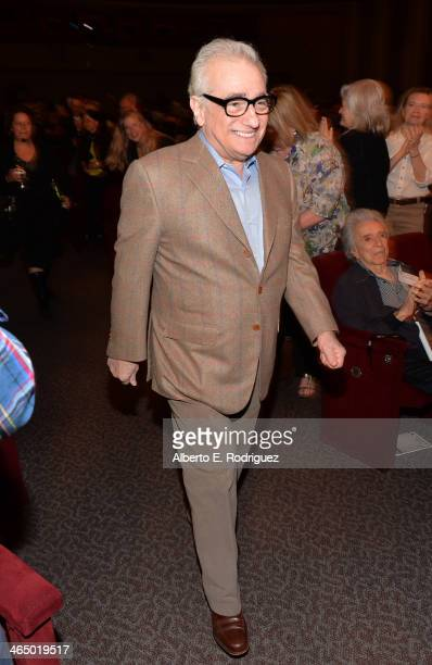 Director Martin Scorsese walks onstage at the 66th Annual Directors Guild of America Awards Feature Film Symposium held at Directors Guild Of America...